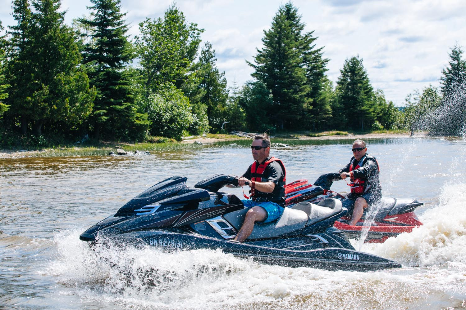 yamaha pwc lake temiskaming island presidents suites