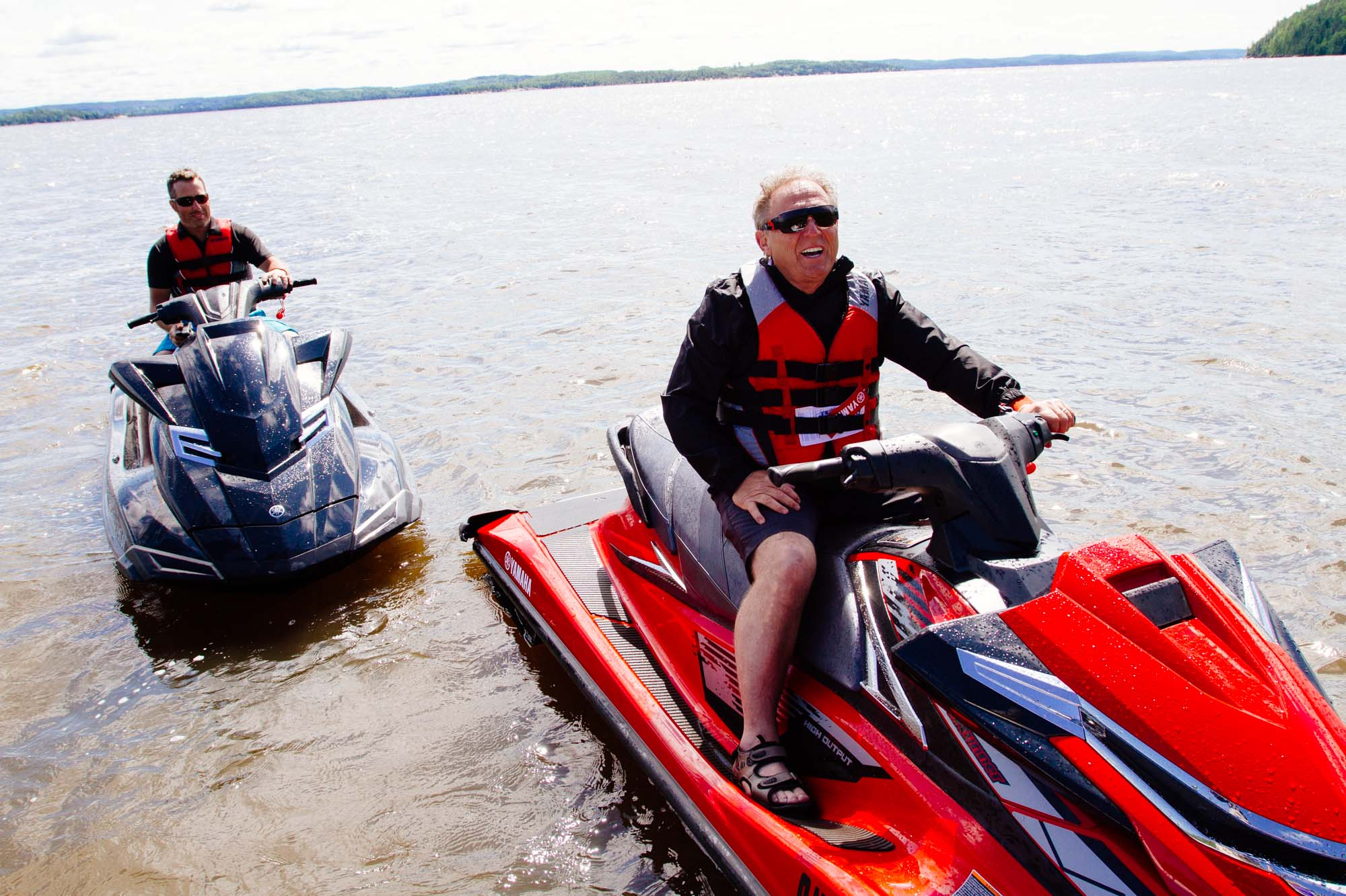 yamaha pwcs on lake temiskaming