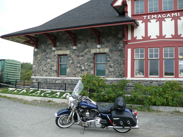 Temagami-Train Station