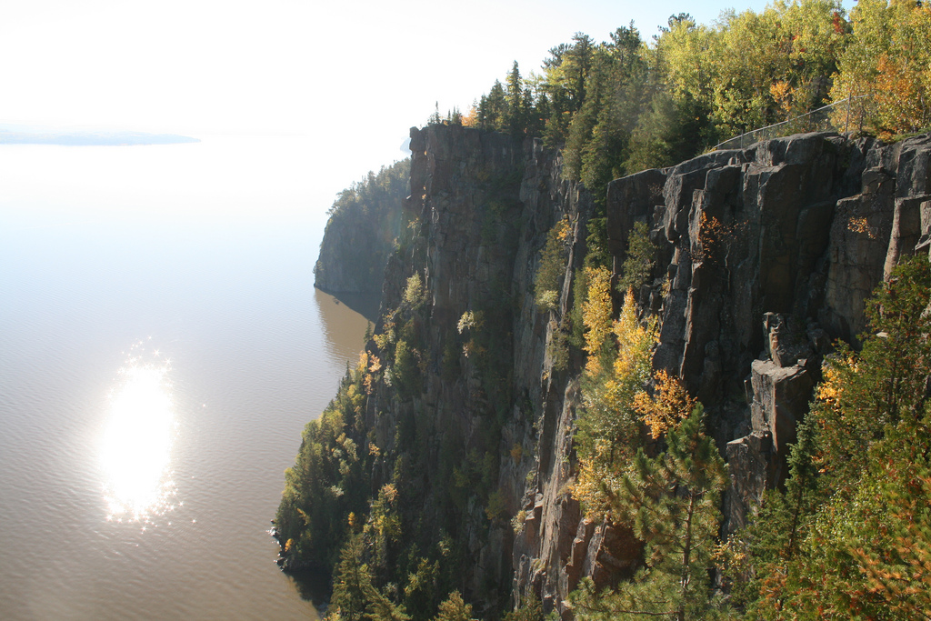 Devils Rock Temiskaming